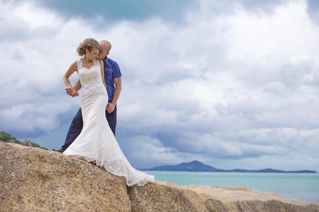 Weddings photos in koh samui