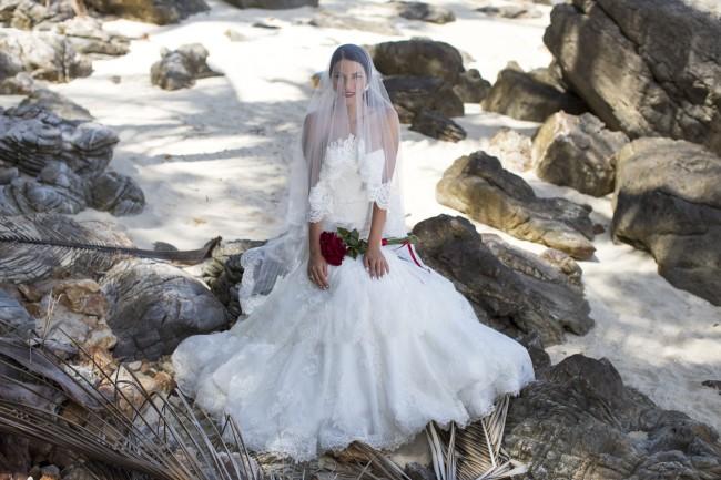 Rocks wedding photography