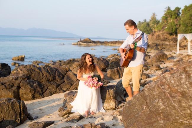 Music Wedding photographer