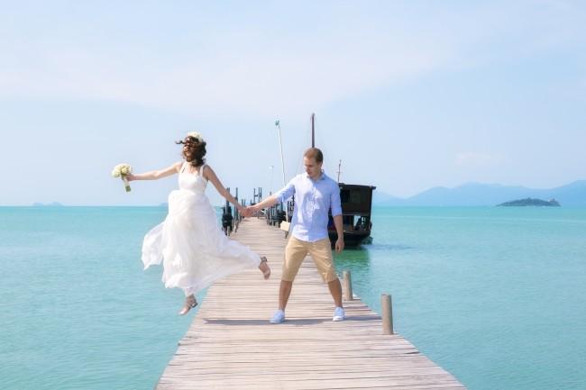Pier Wedding Photographer