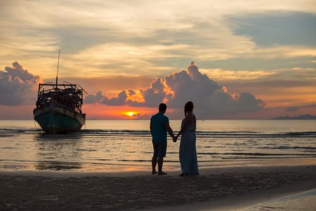 Boat wedding photographer