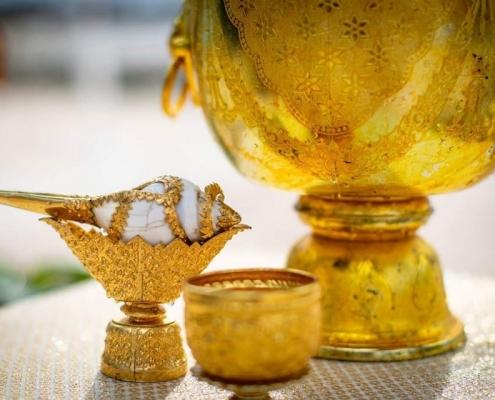 Thai Ceremony for French Wedding