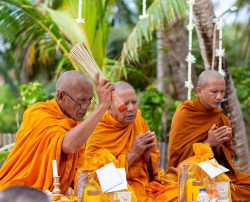 Wedding with Thai Ritual