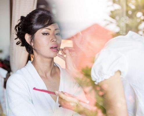 Makeup Artist lips